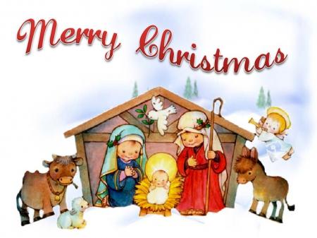 Merry Christmas Nativity