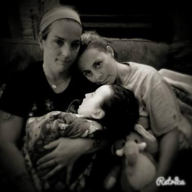 Courtney, Rikki and Andi Jo